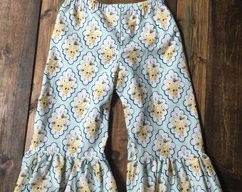 Capri Ruffle Pants | Choose your fabric | size 6m to 10y