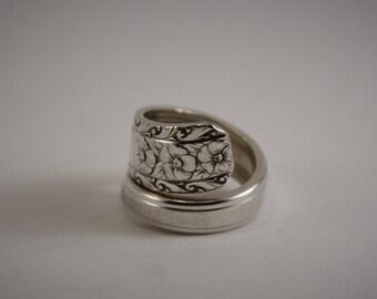 Antique Silverware Spoon Ring