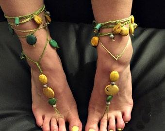 "Barefoot sandals ""warm sun in the grass"""