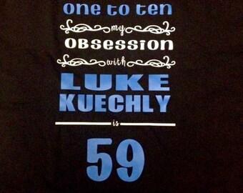 Luke Kuechly Obsessed Tshirt