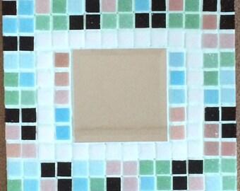 Glass Mosaic Handmade Mirror