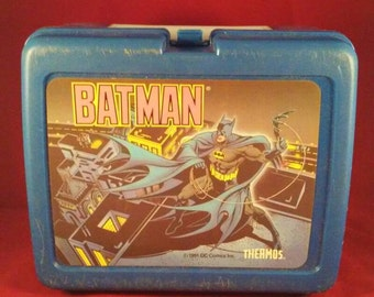 lunch box/Batman/no thermos/Vintage/Fathers Day