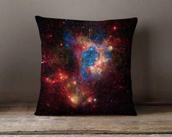 Space Galaxy Universe Pillowcase   Decorative Throw Pillow Cover   Cushion Case   Designer Pillow Case   Birthday Gift Idea For Him & Her