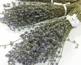 Dried lavender bunch of 300 sticks wedding favours 6.99