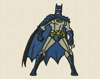 Batman Machine Embroidery Design 3 sizes #4