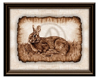 Bunny Rabbit Art Print,Bunny Easter,Rabbit Drawing,Bunny NurseryArt Print,Easter Rabbit,Bunny Gifts,Instant Download,Bunny Illustration