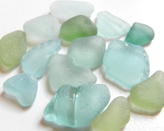 Rough Sea Glass Pieces for Crafts and Jewellery