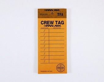 Traveler's Factory Baggage Tag Memo Pads - Orange