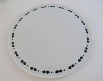 Melitta cakeplate, Melitta Germany, Melitta porcelain, Melitta servingplate, porcelain servingplate, Vintage porcelain