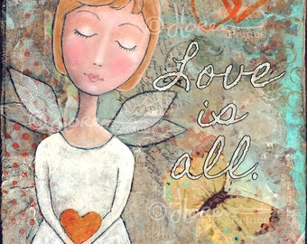 Love Is All - fine art print