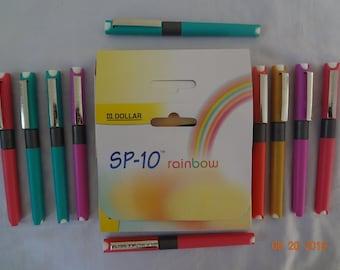 10X dollar SP-10 rainbow FOUNTAIN PEN free shipping