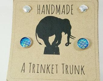 Mermaid Earrings Set