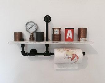 Industrial style shelf