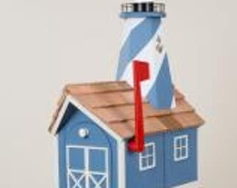 Amish Lighthouse Mailbox (Color Series)