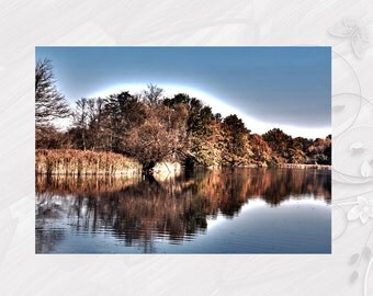 "Post card greeting card ""Köppchensee"" Schildow Brandenburg - [# GK. 2012.100]"