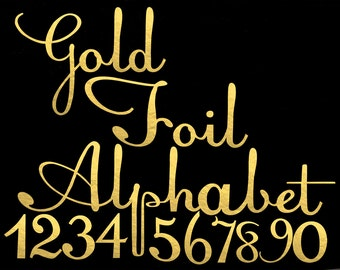 Gold Foil Handwritten Alphabet ClipArt Gold foil  Letters Gold Foil Font Alphabet Letters Gold Foil Numbers 68 Elements Instant Download