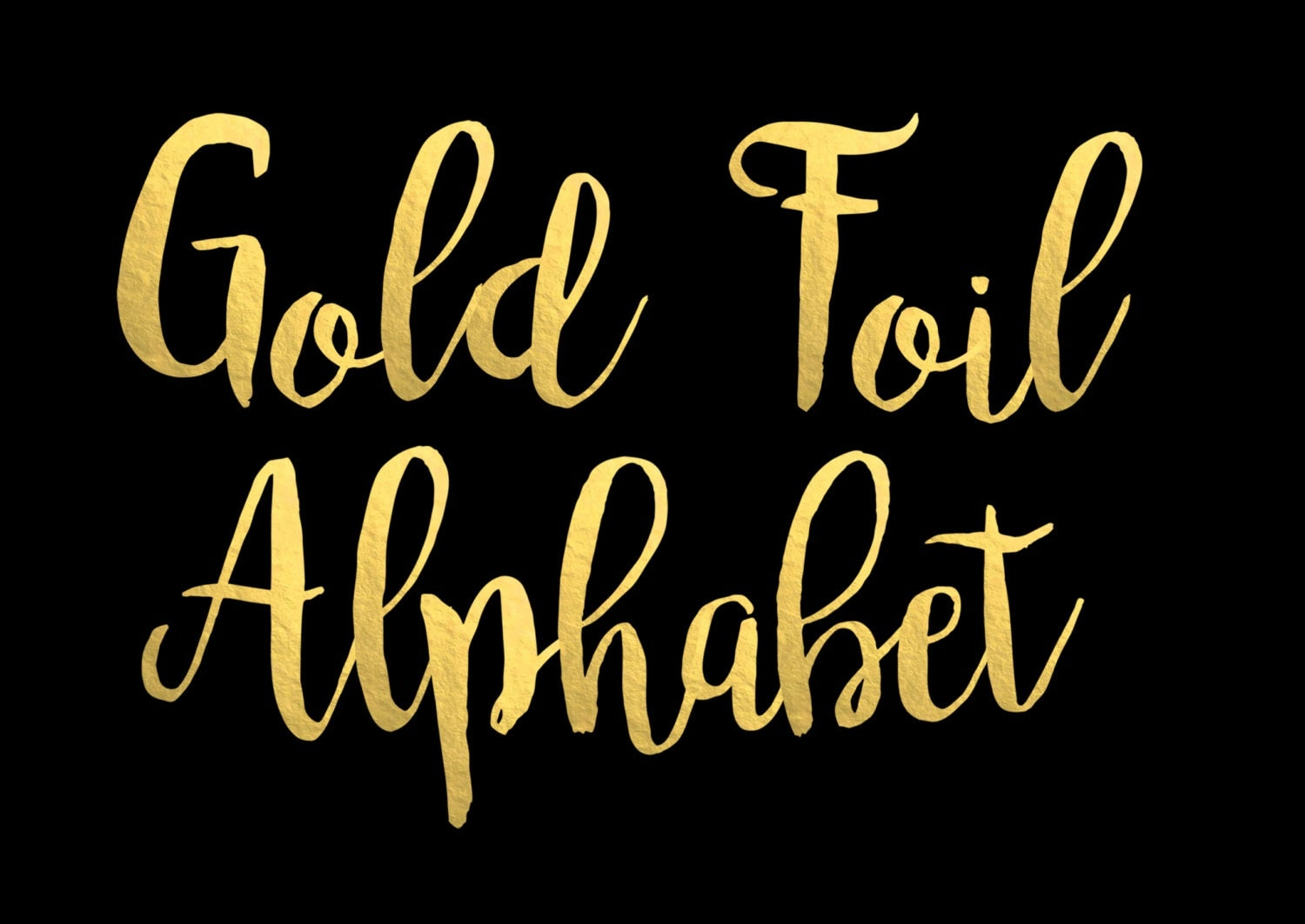 Gold lettering font quotes quotesgram