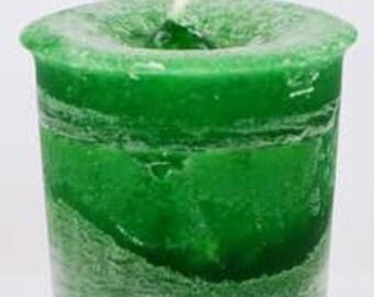 Money Herbal votive - green