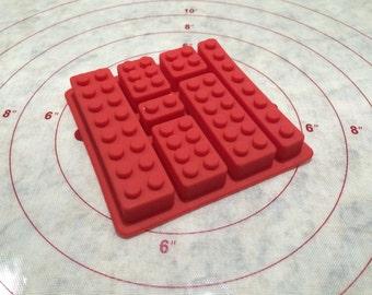 Silicone Lego Mold
