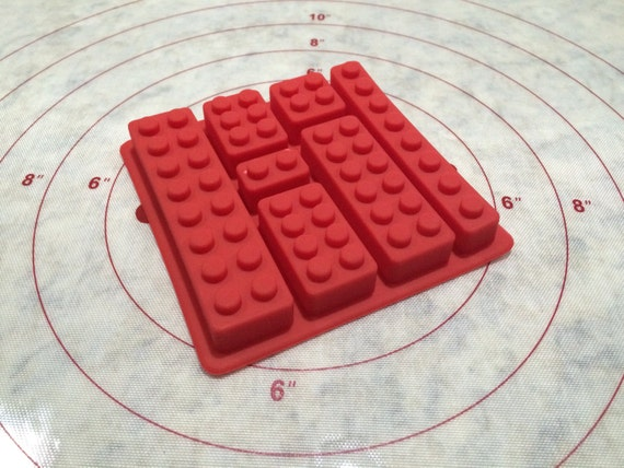 how to make a lego silicone mold