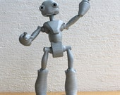 BeQui - 3D printed Articulated Robot figure