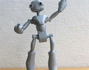 BeQui - 3D printed Articulated Robot figure