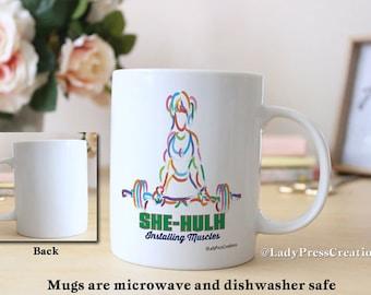 SHE-HULK Fitness Coffee and Tea Mug