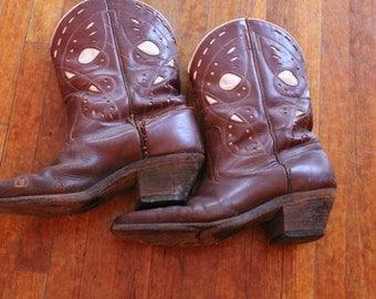Vintage 50s Cowboy Boots