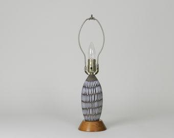 Vintage Upsala Ekeby Lamp by Ingrid Atterberg