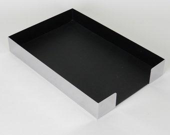 Vintage Chrome Paper Tray