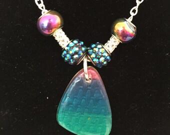 beautiful purple pendant