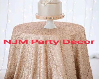 Beautiful Sequin Tablecloth for Any Occassion... Make Your Party Shine