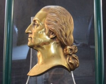 George Washington Bronze Profile