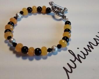 Honeybee Jade Bracelet