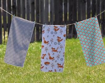Set of 3 Burp Clothes