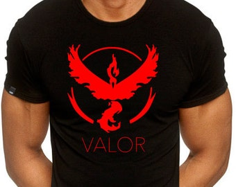 Pokemon GO - Team Mystic Red Valor Shirt