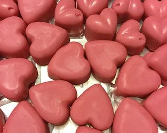 Passionate kisses wax melts