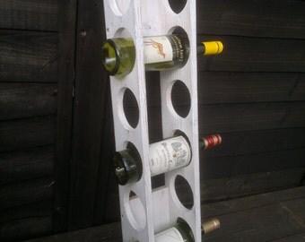 Wine Rack, Wall Mounted, 6 Bottles