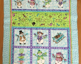 Snow Much Fun Quilt