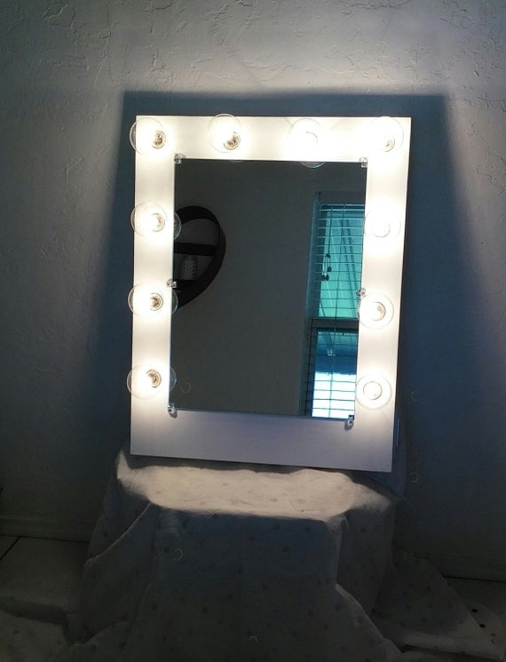 Vanity Lights With Dimmer : Vanity mirror with lightsDimmer and 2plug usb outlet