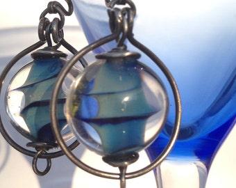 Whirlpool earrings