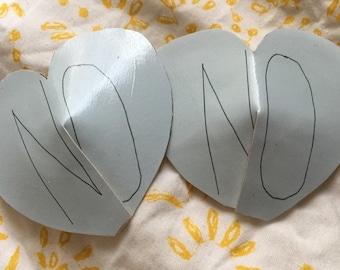 No Heart Pasties