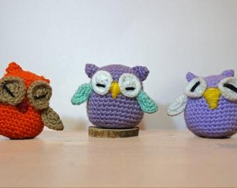 Amigurumi Owl crochet