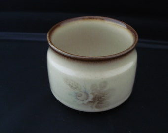 Denby sugar bowl memories pattern. discontinued line. Replacement item