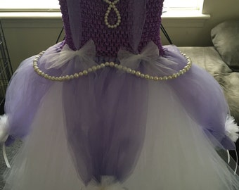 Sophia the first tulle dress
