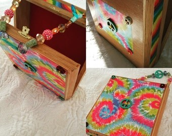 Peace Cigar Box purse by Jewelz