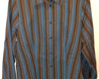 "model rr67 brand new women's top casual longsleeved shirt ""maria gracia"",size-38"
