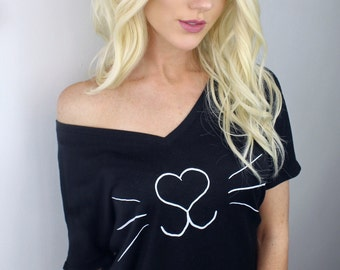 Casual Cat Lady LLC Logo Tee