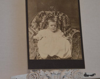 Vintage Photography Baby in chair