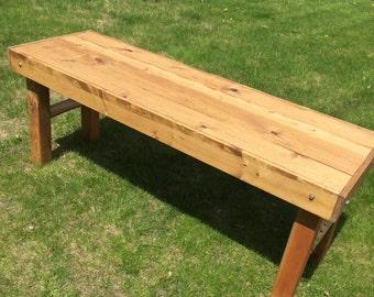 Golden Oak Table